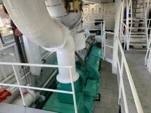Los propulsores fueron repotenciados a 5.000HP
